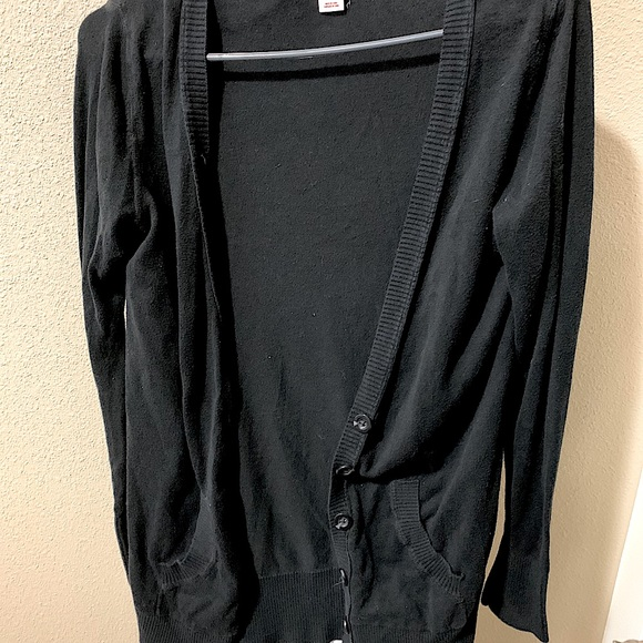 Light black cardigan